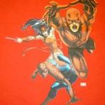 Kurt's Kuston Promotions Daredevil Spiderman Graphic
