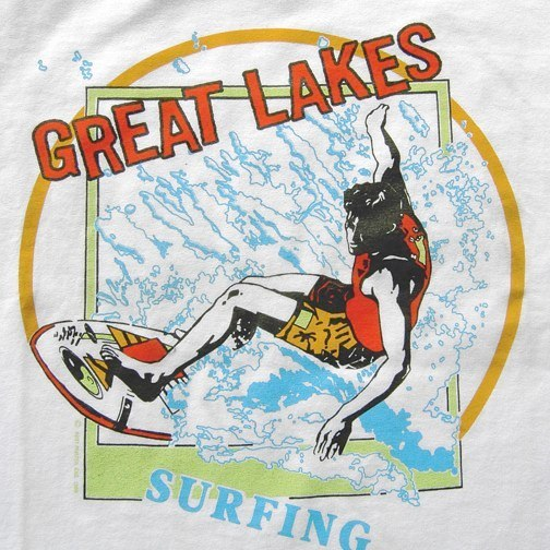 Great Lakes Surfing Graphic
