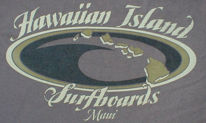 Hawaiian Island Surf Boards Graphic