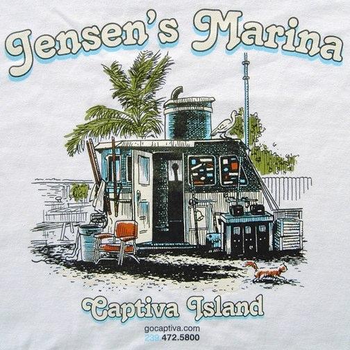 Jensen's Marina Graphic