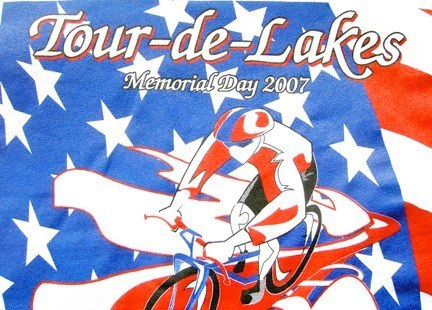 Tour de Lake Graphic