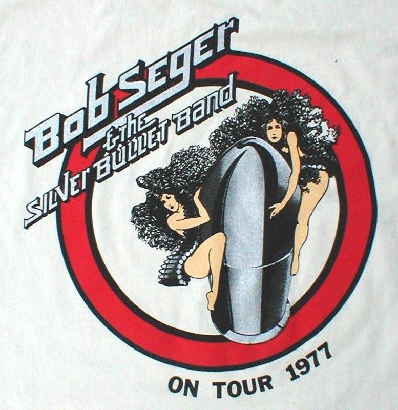 Bob Seger 1977 Tour Design #2