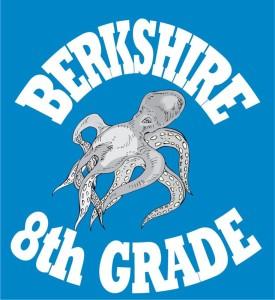 Kurt's Kuston Promotions Berkshire Middle School 8th Grade Logo