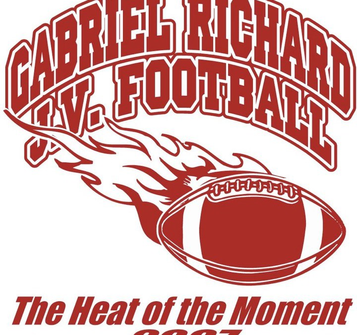 Gabriel Richards J.V. Football Logo