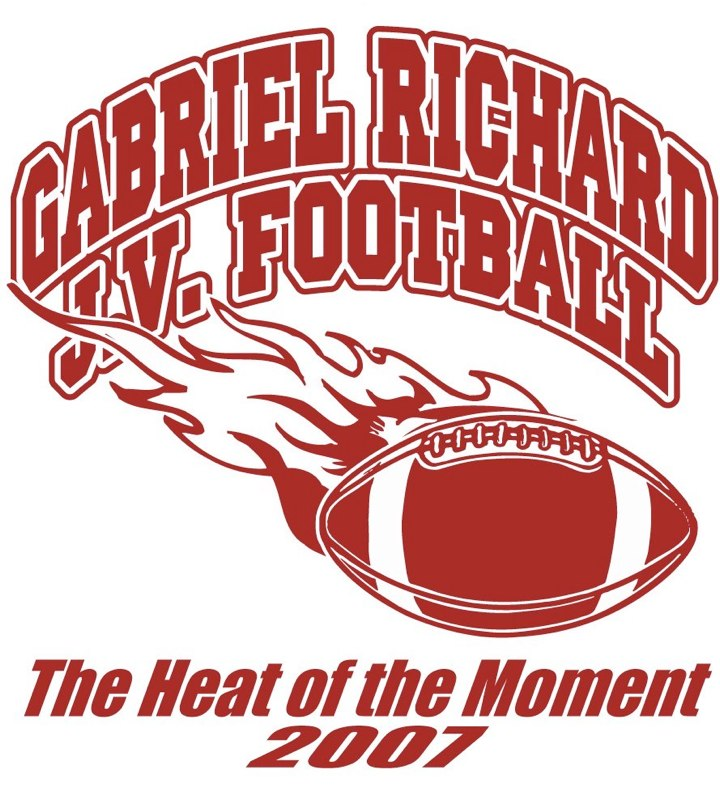 Gabriel Richards J.V. Football Logo