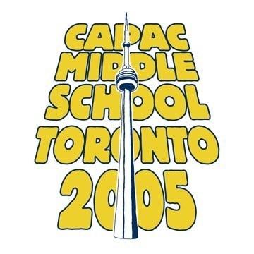 Capac Middle School Toronto Event Graphic