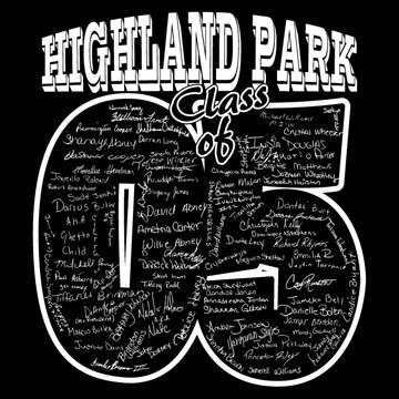 Highland Park High School class of 2005 Graphic