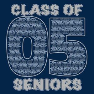Kurt's Kuston Promotions Seniors Class of 2005 Graphic