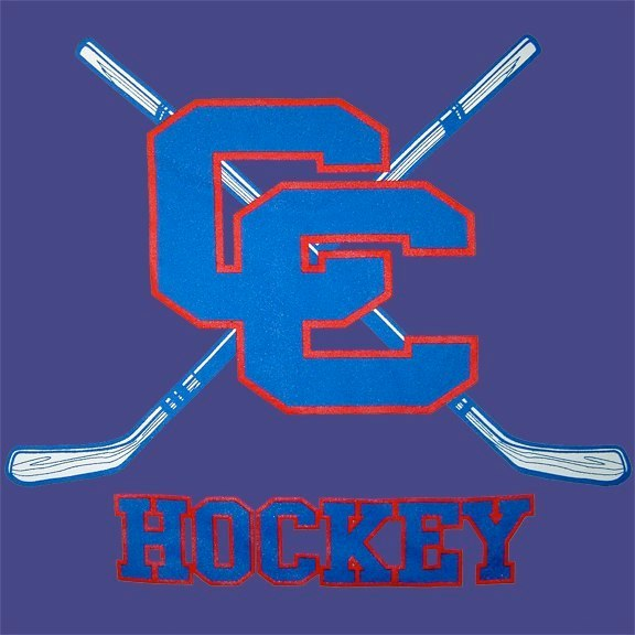 Catholic Central High School Hockey Team Logo