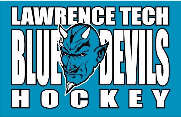 Lawrence Tech Blue Devils Hockey Team Logo