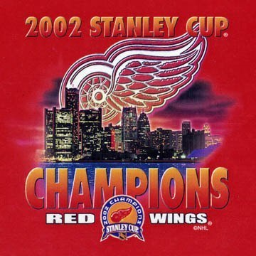 Detroit Red Wings 2002 Champs